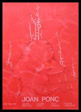 Juan Ponc Joan Prats 4 Galleries Poster Plakat im Alu Rahmen schwarz 76x56cm