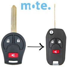 Nissan Tiida X-Trail Micra Remote Flip Key Conversion Blank Shell/Case/Fob