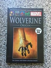 THE ULTIMATE GRAPHIC NOVELS COLLECTION WOLVERINE ORIGIN MARVEL ISSUE 36 New