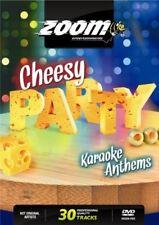 Zoom Karaoke Cheesy Party Anthems Black Lace 80s Disco DVD - 30 cheesy tracks!