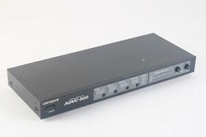 Canopus ADVC-500 Broadcast Avancé Dv Qualité Convertisseur Analogue Acoustique