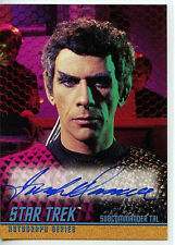 Star Trek Jack Donner A69 Mint Autographed Card 1998 TOS S3 Tal