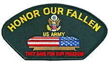 ARMY - HONOR OUR FALLEN - IRON ON PATCH