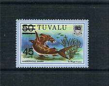 Tuvalu 1981 Surcharge issue SG 157 MNH