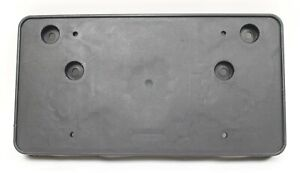 2014 2015 Chevy SS Sedan Black Front Bumper License Plate Bracket USED OEM GM
