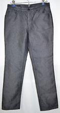 Gucci Pants Black Sheen Cotton/Poly Blend 4-Button Fly Women's Size US 6 (IT 42)