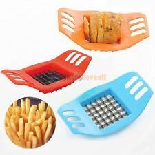 Sl#W French Fry Potato Chip Cutter Slicer Fruit Vegetable Chopper Chipper Blade