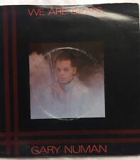 "Gary Numan - We Are Glass - Beggars Banquet Picture Sleeve 7"" Single BEG 35 EX"