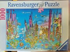 RAVENSBURGER Comic World Jigsaw Puzzle 1000 Pieces Factory Sealed Rare