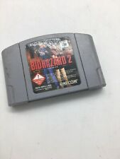 BIOHAZARD 2 RESIDENT EVIL Nintendo 64 N64 Japanese Tested! Cartridge