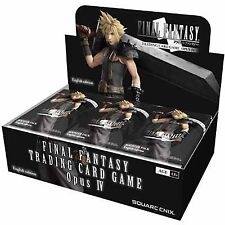 Final Fantasy TCG: Opus IV Booster Pack [New Sealed] FF TCG Opus Trading Card Ga