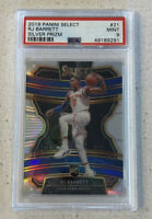 RJ Barrett 2019 Panini Select #21 Silver Prizm RC Rookie PSA 9 MINT. KNICKS DUKE