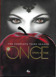 ONCE UPON A TIME - Seasons 3 & 5 - DVD Sets - REGION 1 (NTSC) - NEW/Sealed.