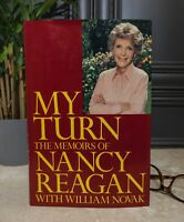 "NANCY REAGAN AUTOGRAPHED ""MY TURN"" BOOK"