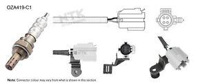 NGK NTK Oxygen Lambda Sensor OZA419-C1 fits Jeep Grand Cherokee 4.0 i 4x4 (ZJ)