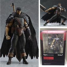 In Box Figma 359 Berserk Guts Black Swordsman Ver Action Figurine Statue Toy