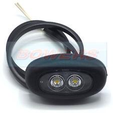 RUBBOLITE/TRUCK-Lite M851 851/01/04 Bianco 12V 24V LED luce luci di posizione anteriore
