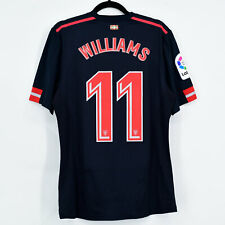 2017-18 Athletic Club Bilbao Away Shirt Player Issue #11 WILLIAMS Jersey