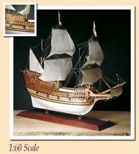 "Amati Mayflower 26"" Wooden Tall Ship Model Kit Historic Series Pilgrims 1620"