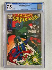 Amazing Spider-Man #78 CGC 7.5 White pages! 1969 1st Prowler (Origin)