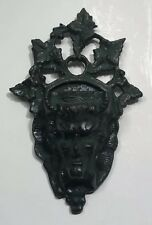 Vintage Match Holder Devil Face Cast Iron Authentic SHIPS FREE IN USA