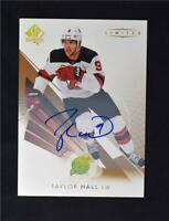 2018-19 UD SP Authentic 17-18 Update Limited Auto #60 Taylor Hall