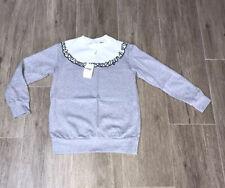 Fendi Girls Grey Jumper Age  8 Yrs BNWT‼️‼️ RRP £174 ‼️‼️