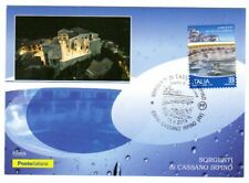 Italy 2019: sources of Cassano Irpino-Postcard Official Poste Italiane