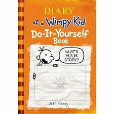 Diary of a Wimpy Kid Do-it-yourself Book 9780810989955 by Jeff Kinney Hardcover
