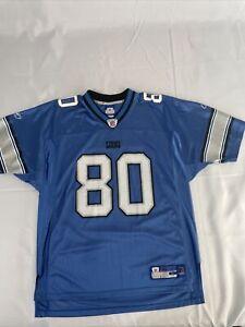 Detroit Lions Jersey Carlos Rogers Reebok Official NFL Gear Adult Size Large
