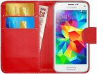 Housse Etui Coque Portefeuille Simili Cuir Pour Samsung Galaxy S5 Mini + Film