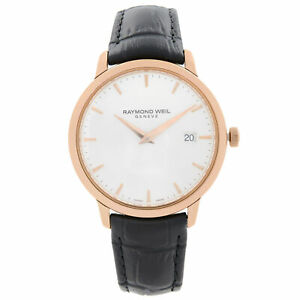 Raymond Weil Toccata Rose Gold PVD Steel Silver Dial Mens Watch 5488-PC5-65001