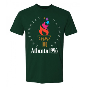 New USA Atlanta 1996 Centennial Olympic Games Vintage Coke Coca Cola 90s Shirt