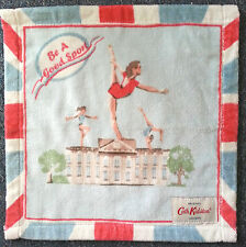 Set of 2 CATH KIDSTON Sports Face Cloths / flannels / towels - 30 x 30cm RRP £10