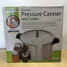 Presto 16-Quart Pressure Canner and Cooker 01745 Durable Heavy Gauge Aluminum