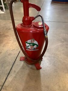Vintage Restored Wayne Lubester Oil Grease Pump Model #25