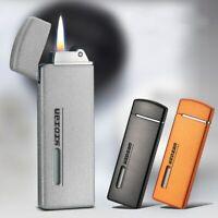 Ultra Thin Retro Mini Inflatable Lighters Gasoline Butane Kerosene Oil Lighter