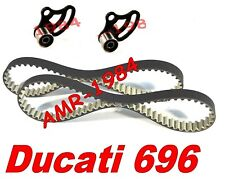 CINGHIE DISTRIBUZIONE + 2 TENDITORI MOBILI DUCATI Monster 696 HIGH TENACITY