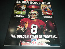 1995 SUPERBOWL XXIX OFFICIAL NFL FIRST ISUE  GAME PHOTO BOOK/ STEVE YOUNG PHOTO