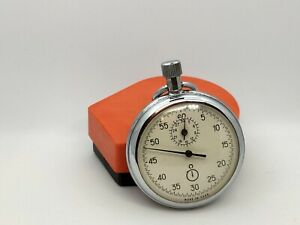 ussr mechanical stopwatch AGAT with one button + original box 26