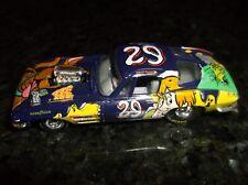 #29 ROBERT PRESSLEY CARTOON NETWORK CHEVY CORVETTE NASCAR 1:64 HOOD OPENS