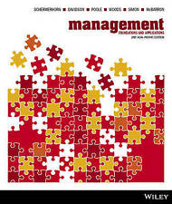 Management: Foundations and Applications by Peter Woods, David Poole, Alan...