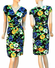 Polyester Cocktail Wiggle/Pencil Floral Dresses for Women