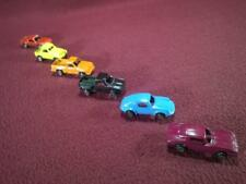 TOOTSIETOY LOT OF 6 DIECAST VEHICLES - CORVETTE PORCHE PICK-UP ++ - 2""