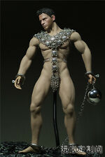 """1/6 Custom metal Clothing Slave Clothes For 12"""" Phicen Male M31 Figure Body"""