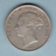 New listing Great Britain. 1885 Victoria - Halfcrown. Vf - Trace Lustre
