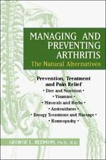 Managing and Preventing Arthritis: The Natural Alternatives-ExLibrary