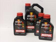 9,60 €/L Motul 8100 X-Clean efe 5w30 c2 c3 8 LTR Fiat 955535-s1/s3