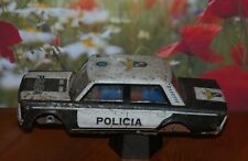 VOITURE TOLE POLICIA SEAT - PAYA - 24 CM. ANCIENNE 6 NO JOUSTRA JRD MONT BLANC
