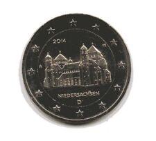 2 Euro-Münzen, Deutschland 2014 A, Niedersachsen, Stiftskirche St. Michaelis,